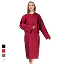 TOPTIE Salon Gown Client Gown SPA Barber Adult Guest Gown Clothing with Adjustable Belt, 3 Colors in Stock