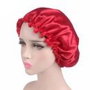 TOPTIE Women Satin Bonnet Night Sleep Cap Elastic Night Hair Cover