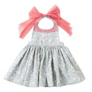 Opromo Cotton Cute Lovely Baby Kids Aprons, Waterproof Dress Apron for Children, Party Favors
