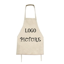 Custom Polyester Adult & Kid Aprons, Design Your Own Artist Apron Chef Apron With Your Picture Or Logo