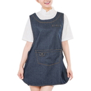 Opromo Denim Cobbler Uniforms Apron, 19 11/16