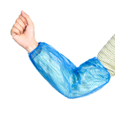 Opromo Disposable PE Oversleeve, Waterproof Arm Sleeves Protective Sleevelet with Elastic Cuff