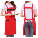 Opromo Wollen Fabric Fashion Apron Milk Tea Store Flower Shop Coffee Shop Attendant Work Uniform
