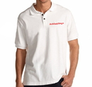 Opromo Customized Cotton Polo Jersey with Printed Logo or Embroidery, 5.3oz