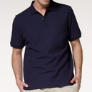 Opromo Blank Cotton Polo Jersey with Printed Logo or Embroidery, Long Leadtime, 5.3oz
