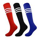 Opromo Women Stripe Tube Socks, Football Soccer Knee High Socks for Volleyball Baseball Cheerleading Team Sports