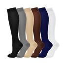 Opromo Unisex Compression Socks Pressure Socks Multicolor Progressive Socks for Running Sports Travel