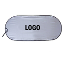 Custom Single Panel Spring Loop Auto Sunshade, 40