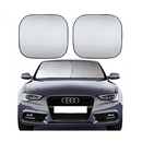 Blank Collapsible Auto Sunshade, 52