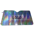 Custom Collapsible Auto Sunshade, Laser Aluminized Film Shades, 57