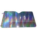 Blank Collapsible Auto Sunshade, Laser Aluminized Film Shades, 57