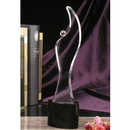 Promotional Crystal Award Imprinting on Foundation