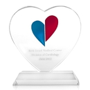 Promotional Heart Award with Base