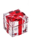 Crystal Gift Box Decoration, Cute Figurine, 2.36