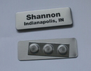 Promotional Metal Name Badge with Different Designs