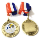 Custom Iron Medal with Soft Enamel, 2.5