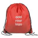 Custom 210D Polyester Drawstring Backpack, 14