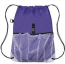 Blank 210D polyester Sport Mesh Backpack, 12
