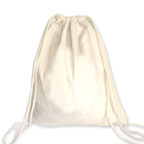 Blank 10oz Cotton Drawstring Bag, 13 3/4
