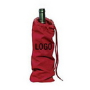Customized 10oz Cotton Bottle Wine Bag, 13 3/4
