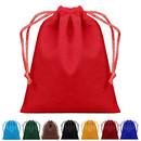 Blank Velvet Drawstring Bags, 4