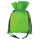 Blank 60G Non Woven Polypropylene Gift BAG with Ribbon Drawstring Closure, 10