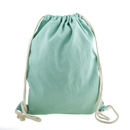 Blank Durable 12oz. Cotton Canvas Drawstring Tote Bags, 12.5