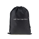 Custom Non-Woven Drawstring Shoe Bag for Travel, 11-3/4