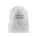 Custom Dust-proof Non-woven Drawstring Portable Storage Bag, 15-3/4
