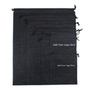 Custom Dustproof Non-Woven Drawstring Garment Bag, 17-3/4
