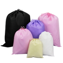Aspire Reusable Non-woven Drawstring Bag For Clothing Shoes Storage Organizers, 8 Size