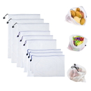 (3PCS/Price) GOGO Premium Reusable Mesh/Produce Bags for Grocery, Fruit, Vegetable, and Toys