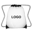 Custom Clear Drawstring Backpacks Transparent PVC Cinch Bags For School, Security Travel, Sports