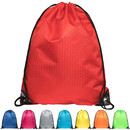 Opromo Waterproof Cinch Drawstring Gym Backpack Not See-through Pull String Bag