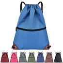 Opromo Water Resistant Drawstring Bags Unisex Backpack Shoulder Sackpack for Gym/Shopping/Sport/Yoga/School
