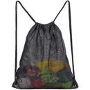 Opromo Heavy Duty Mesh Drawstring Bag, Golf Mesh Sport Equipment Storage Bag for Beach, Swimming, Shopping