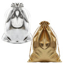 Opromo Heavy Duty Drawstring Organza Jewelry Pouches Wedding Party Christmas Favor Gift Candy Chocolate Bags