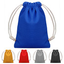 Opromo Blank Cotton Drawstring Bags