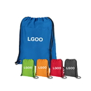 Custom Insulated Drawstring Cooler Pack with Large Front Pocket, 16 1/2