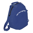 Custom Lightweight Polyester Solid Color Student Daypack, 12