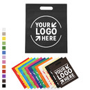 Customized 80G Non-woven Die-cut Tote Bag Hand Out Exhibition Bag
