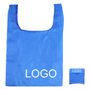 Customized 190T Polyester Foldable T-Shirt Handle Bag - Long Leadtime, 14