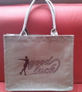 Customized Organic Hemp Tote Bag, 14