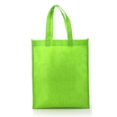 Blank Reusable 80G Non-woven Shopping Tote Bag, 10