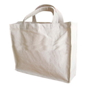 Blank 12oz Cotton Gusset Tote Bag, 11