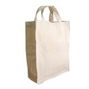 Blank 12oz Cotton Gusset Tote Bag, 15