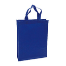 Blank Reusable 80G Non-woven Shopping Tote Bag, 15.5