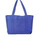 Blank 600D Polyester Shopping Boat Tote Bag, 19