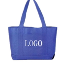 Customized 600D Polyester Shopping Boat Tote Bag, 19
