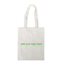 Customized 6oz Cotton Canvas Tote Bag, 14.5